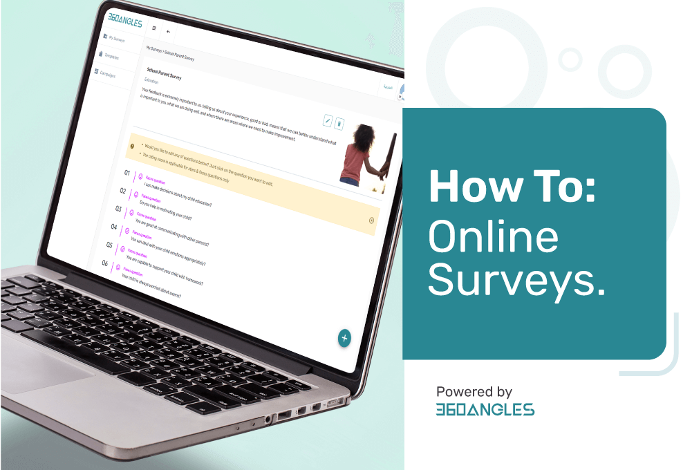 how to online survey