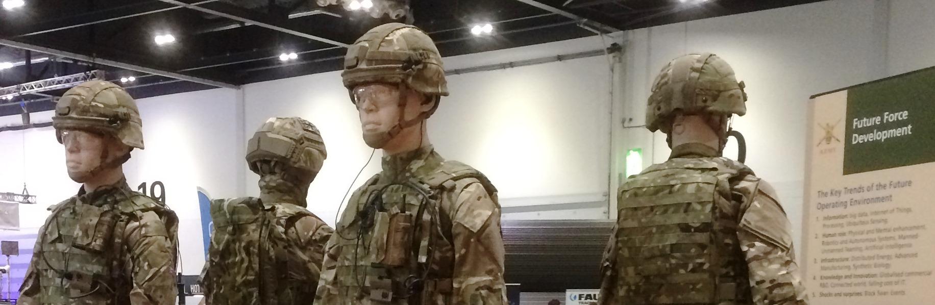 soldier dummies
