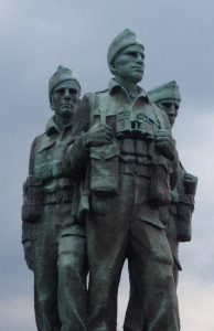 special forces statue