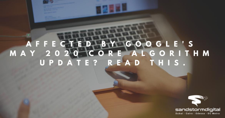 Google May 2020 Algo Update