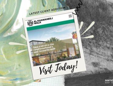 al-khawaneej walk - latest SEO client addition