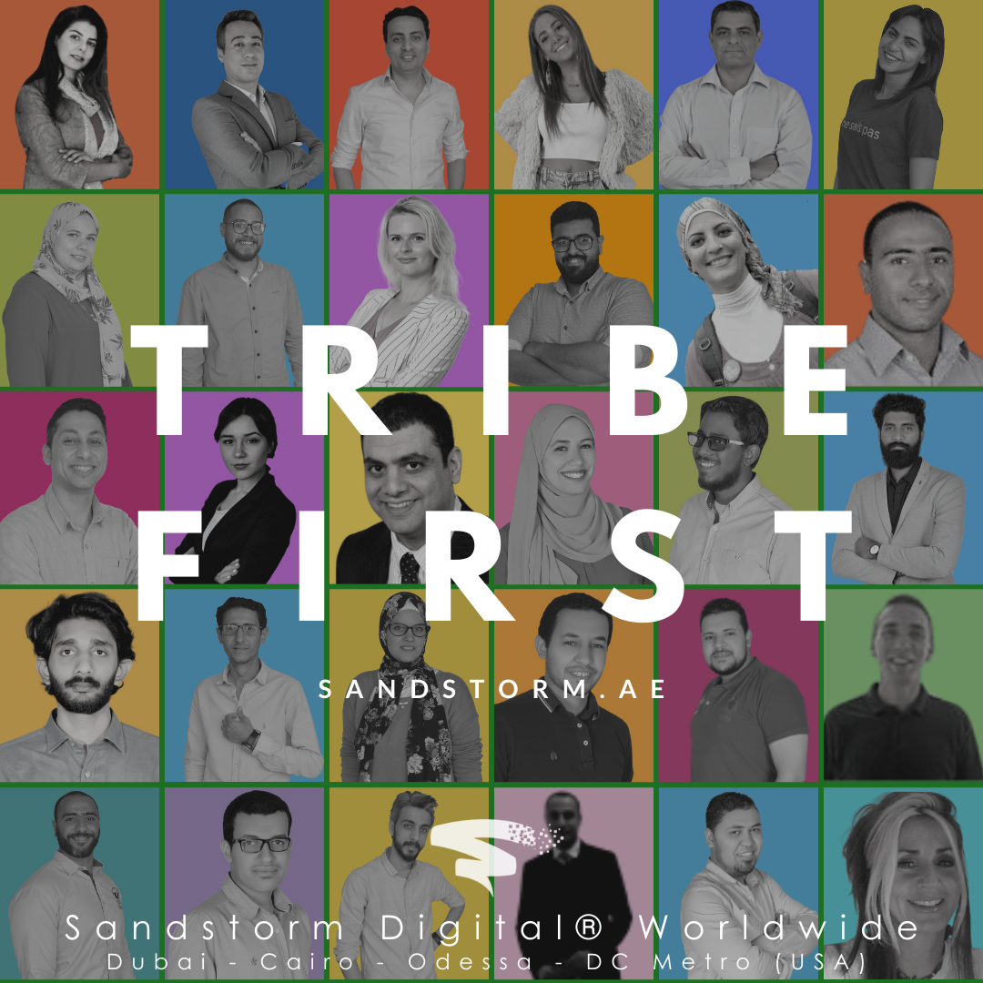Sandstorm Digital - tribe first