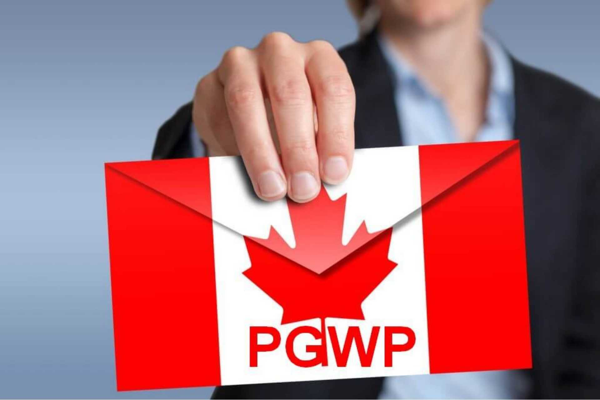 post graduate work permit with CW