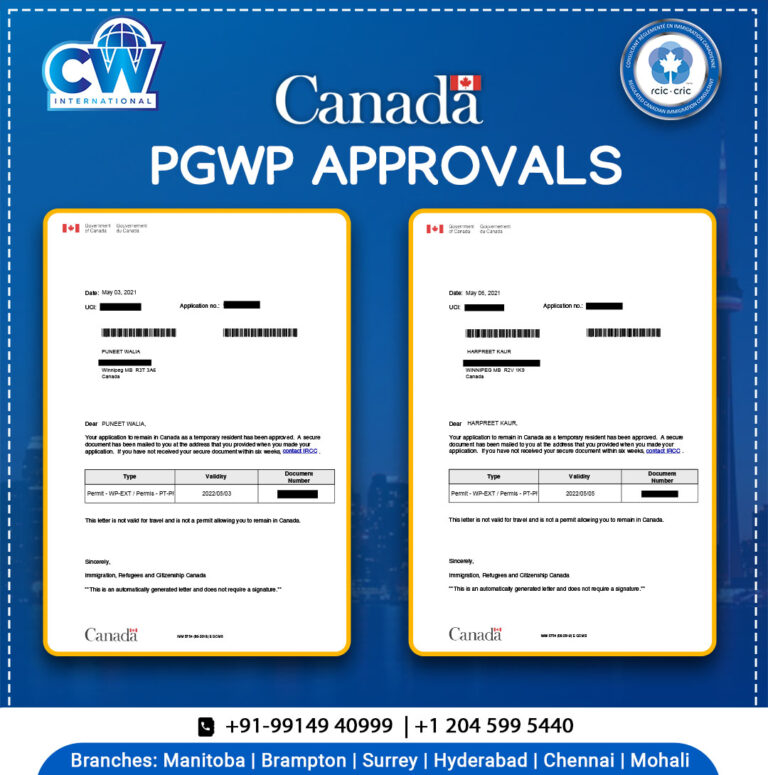 PGWP approval Letter CW international