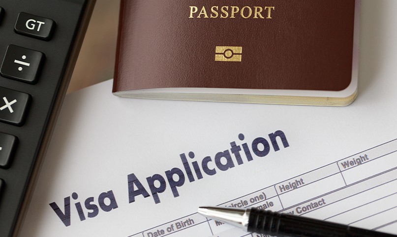 temporary resident visa (TRV) with CW