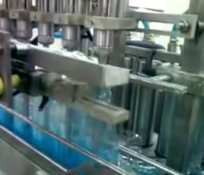 Glass Cleaner Filling Machine