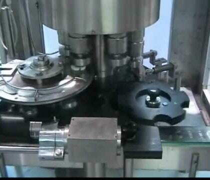 Automatic Jar Capping Machine- Twist-Off