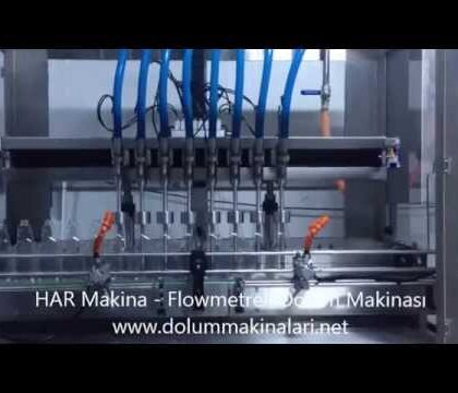 Filling Machine with Flowmeters