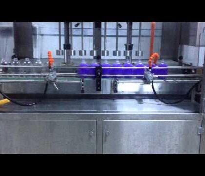 Sıvı El Sabunu Akışmetreli Dolum Makinası