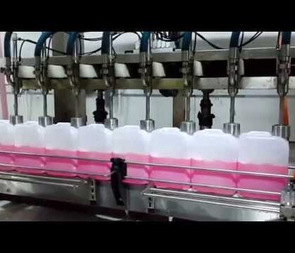 5 Litre Doldurabilen Akışmetreli Dolum Makinası