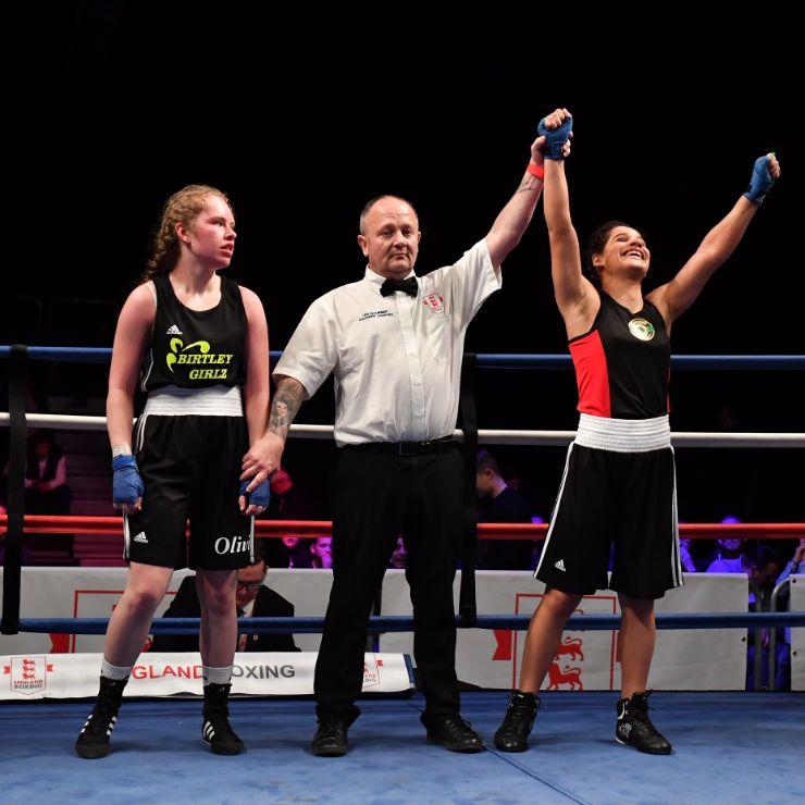 female boxing london