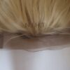invisible lace wig blonde