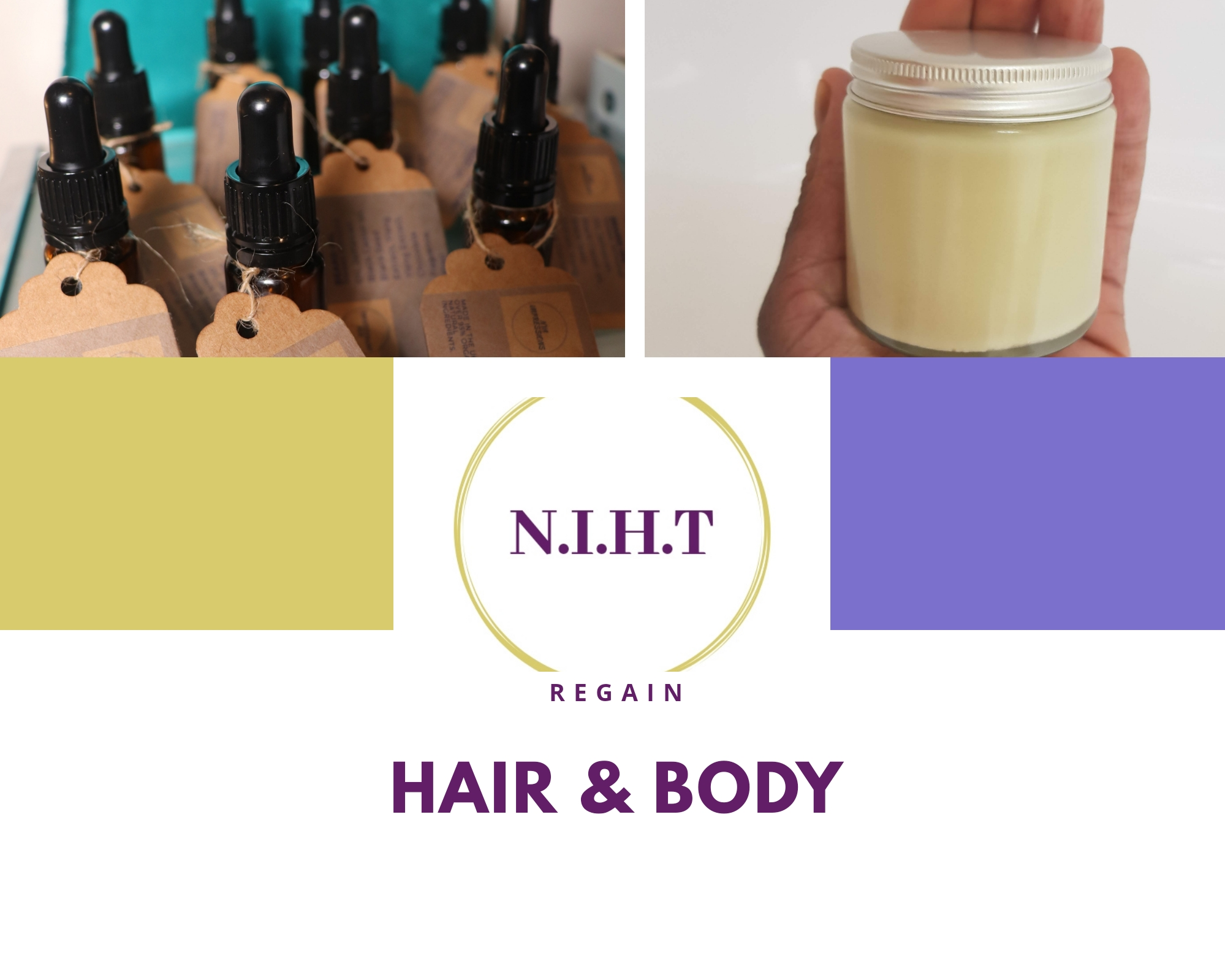 Hair & body natural products