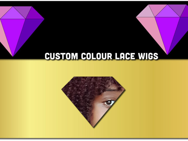 Custom Colour Swiss Lace Wigs