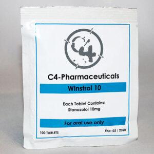 C4 Pharmaceuticals Winstrol 10
