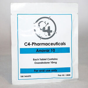 C4-Pharmaceuticals Anavar 10mg