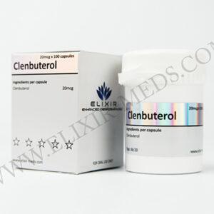 Elixir Meds Clenbuterol 20mcg