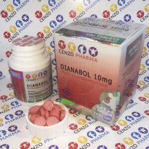 Cenzo Pharma Dianabol 10mg