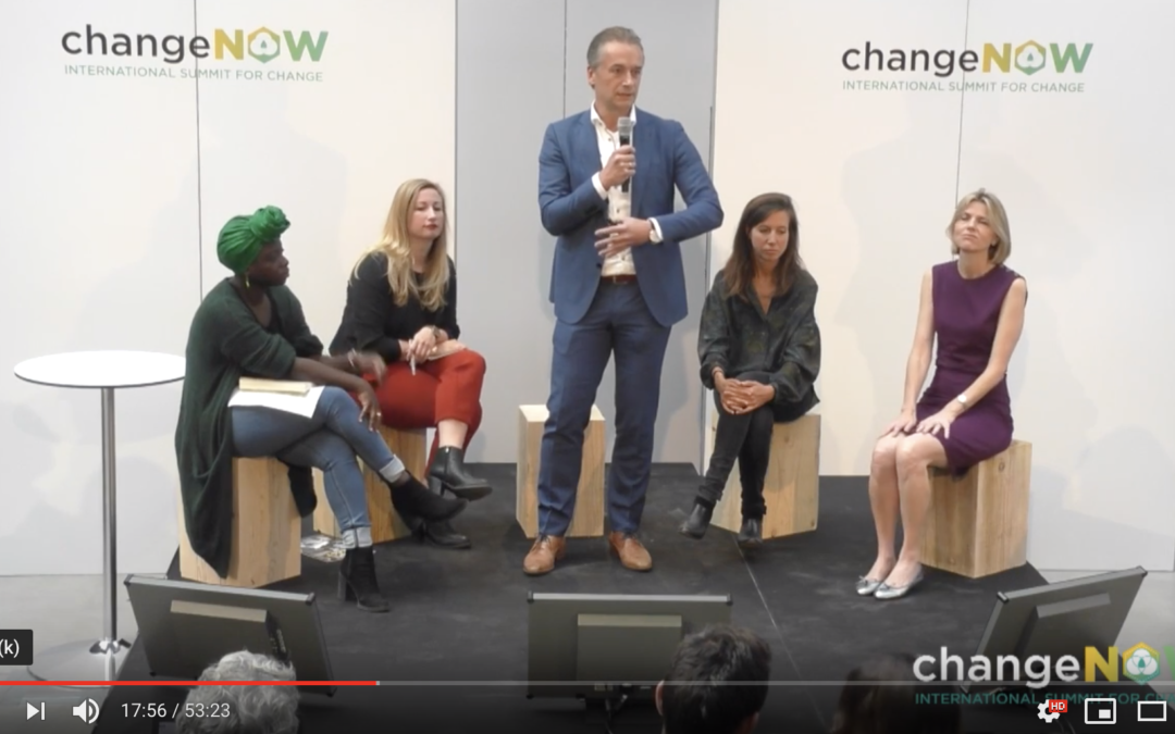 Roundtable session: Towards Impact-driven Business Models @ ChangeNOW 2018