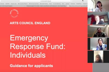 Arts Council Emergency Response Fund for Practitioners (Part I)