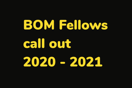 Call out for Fellows 2020 – 2021