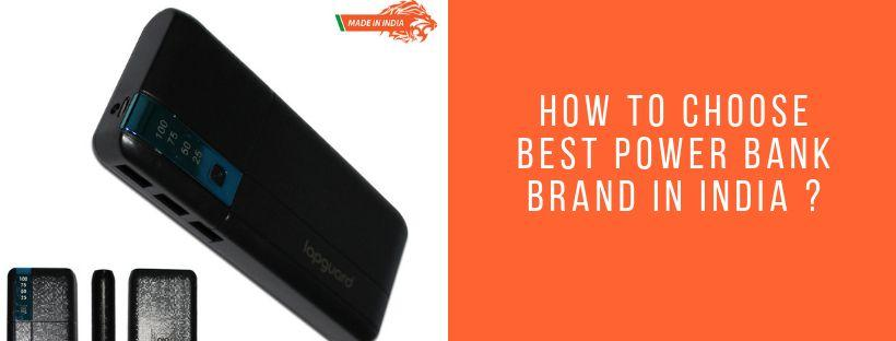 How to Choose Best Power Bank Brand in India
