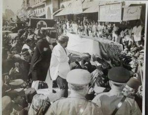 Nizam Death Procession
