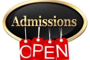 admissions open 647 x 404 072516054055
