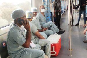 HyderabadMetro greencorridor Heart 02022021 1200 1