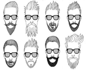 how to choose beard style for di