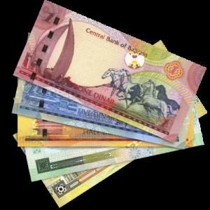 products bahrain dinar