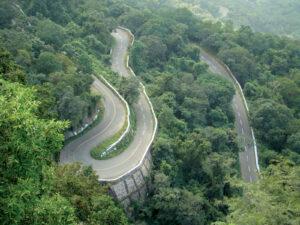 roads Anaimalai Hills India