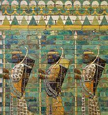 220px Berlin Pergamon Museum Persian warriors 20150523 6849