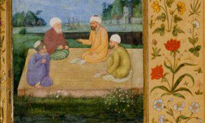 Govardhan. A Discourse Between Muslim Sages ca. 1630 LACMA e1442548727310