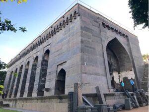 Khush Mahal Warangal Fort. Photo by Moses Tulasi