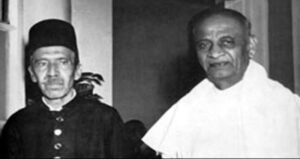 The Nizam of Hyderabad and Sardar Patel English
