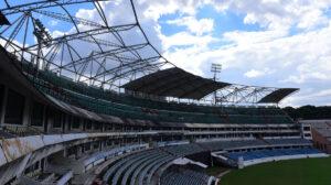 Neglected stadium