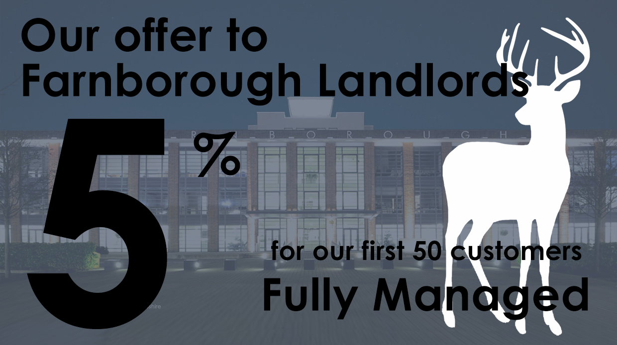 letting agents farnborough, let property for free