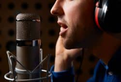 Male on-hold Voice Recordings
