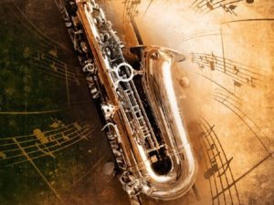 Light jazz music selection for on hold music