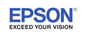 EPSON blue and black