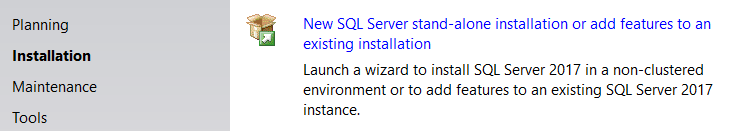 Install SQL Server Developer Edition
