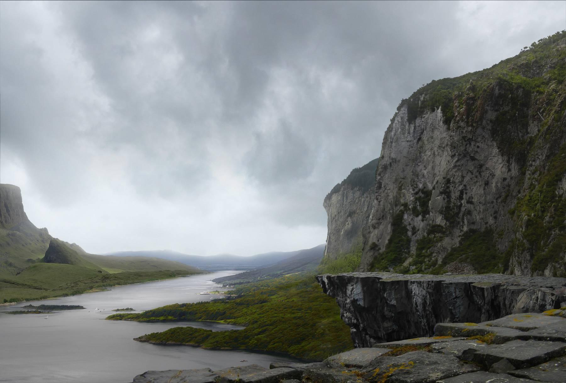 The cliff edge