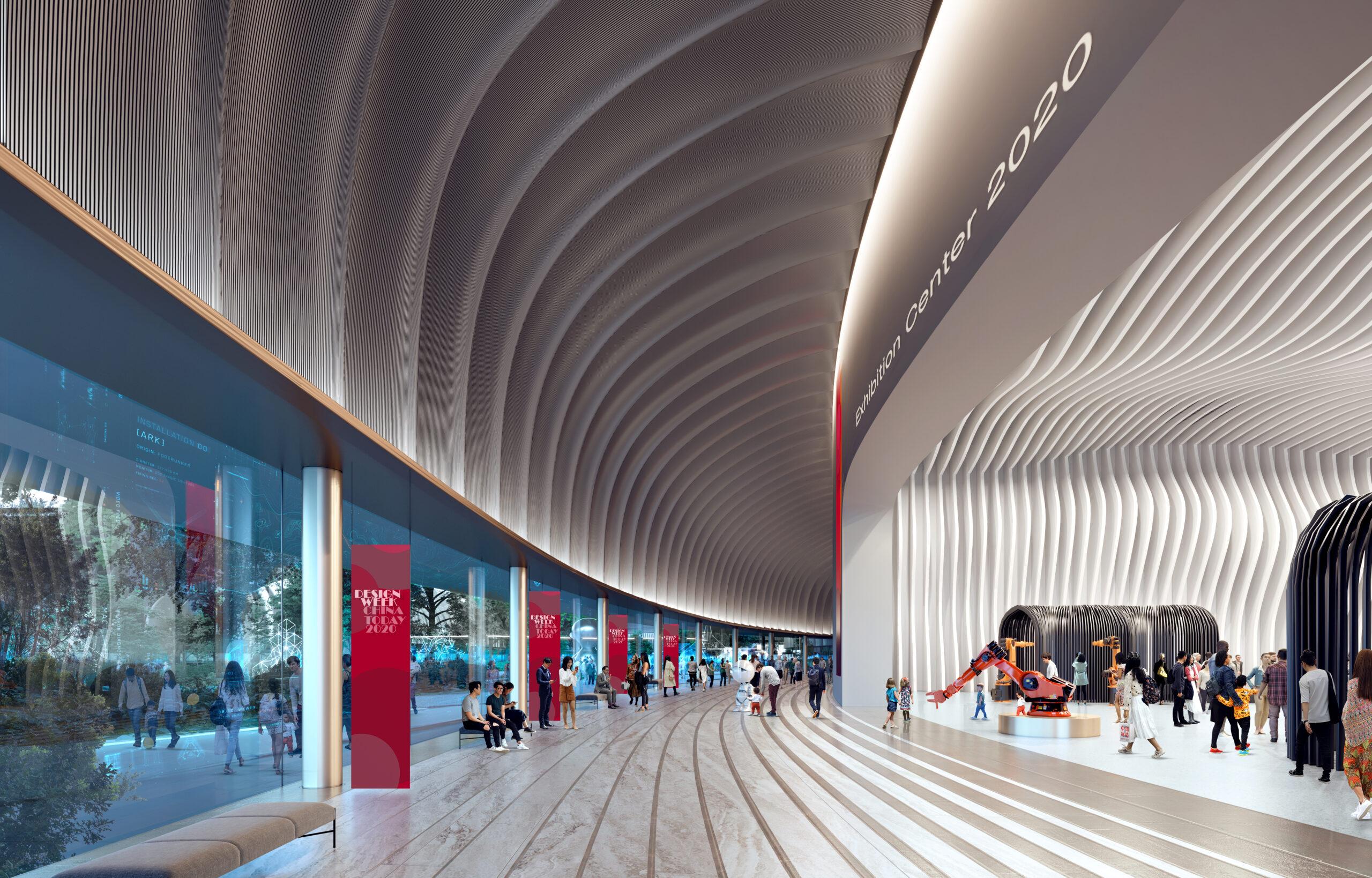 New Exhibition Center in Beijing