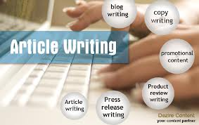 Article Writing Company in Hyderabad, India