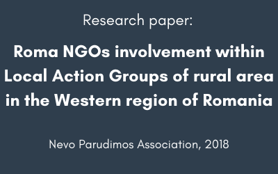 Roma NGOs involvement within Local Action Groups of rural area in the Western region of Romania