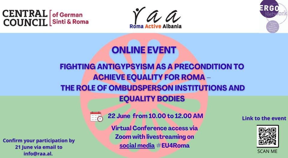 Fighting antigypsyism as a precondition to achieve equality for Roma