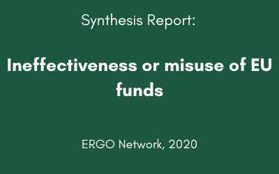 Ineffectiveness or misuse of EU funds
