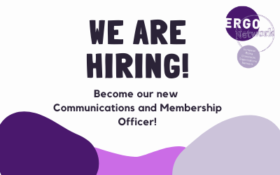We are hiring a Communications and Membership Officer