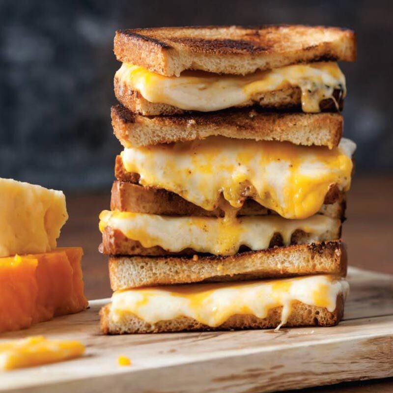 Three-Cheese-Grilled-Cheese